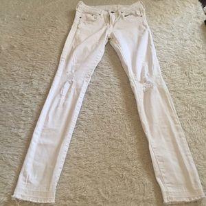 White jeans H&M